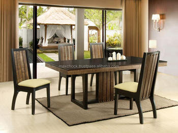 Forest Rustic Solid Wood Dining Table Amp Chairs Buy Wood