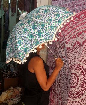 Indische Handmsummer Sonnenschutz Sonnenschirm Mandala Ombre Dach Baumwolle Strand Regenschirm Buy Kleine Sonnenschirmbaumwolle Modische