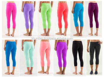Workout Yoga Pants Fitness Leggings,Ladies Nylon Spandex Yoga ...