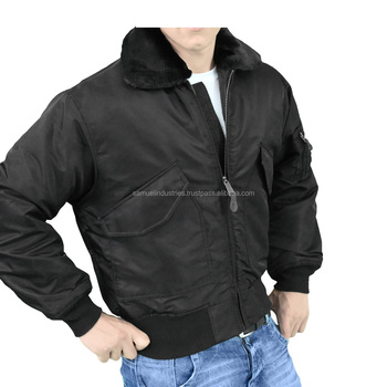 Cotton Flight Jacket/ Nylon Flight Jacket/taslan Satin Flight With ...