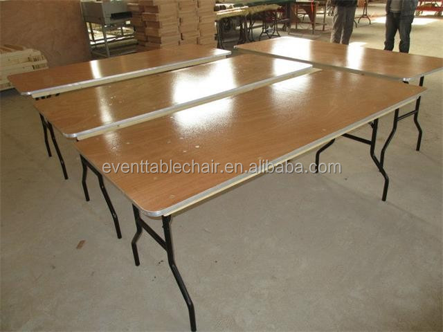 used modern plywood banquet folding tables for sale buy folding rectangular banquet table used. Black Bedroom Furniture Sets. Home Design Ideas