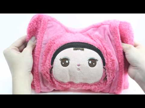 cartoon doll bags pillow hot water bottle hot water bag,hand warmer Hanoi