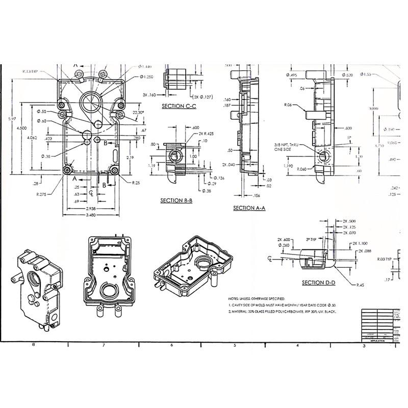 High Precision Customized 3D CAD Free Design Metal Stamping / Fabrication Metal Sheet Stamping / Sheet-metal Forming