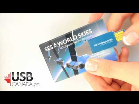 USB business card- Flash drive USB card style