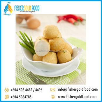 Frozen Fried Fish Ball Halal Seafood From Malaysia - Buy Frozen  Seafood,Halal Food,Fish Ball Product on Alibaba com