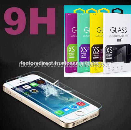 High Quality Tempered Glass H9 0,26 mm Round Edges Display Shield Screen Guard for Sony Xperia Z4