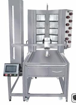Gas Doner Kebab Robot Shawarma Machine - Buy Automatic ...