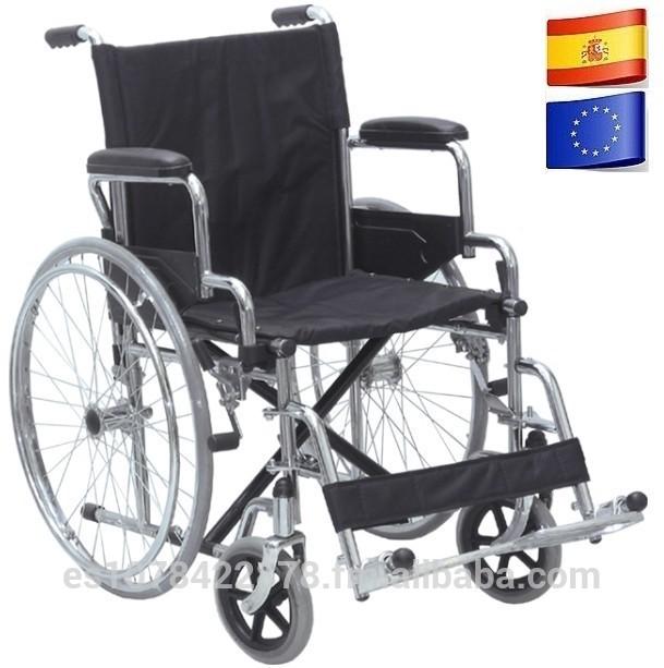 Silla de ruedas plegable para traslado de pacientes en cl nica y hospital alta calidad equipos - Silla de traslado ...