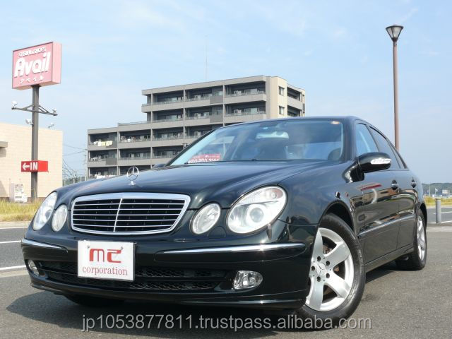Reasonable and Popular mercedes benz cars Mercedes-Benz E-Class 2002 used car