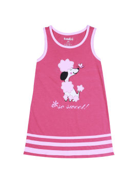 Kandoo summer kids clothes 100% cotton fashion baby girls dress