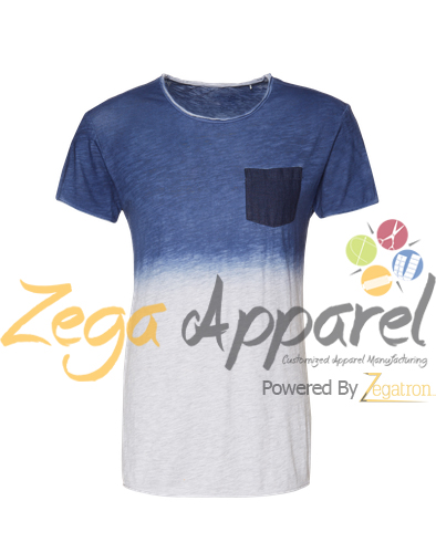 Zegaapparel Custom made Mens Fashion Tie Dye T-shirt