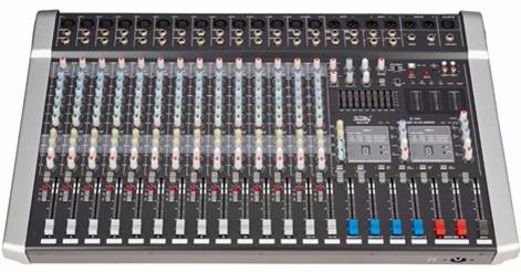 Soundking 20 channel audio mixer digital mixing console