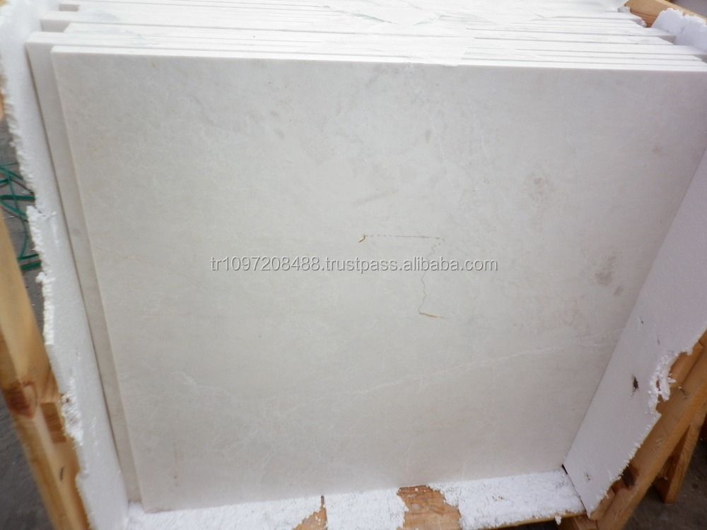 Light beige marble in Turkey