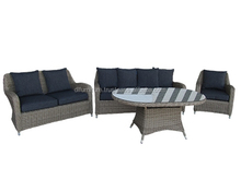 Top sales 2015 High quality rattan sofa set outdoor furniture small sofa 2 seater from Vietnam supplier