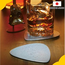 Durable and Fashionable Novelty gift Drink coaster guitar pick shaped at reasonable prices , OEM available
