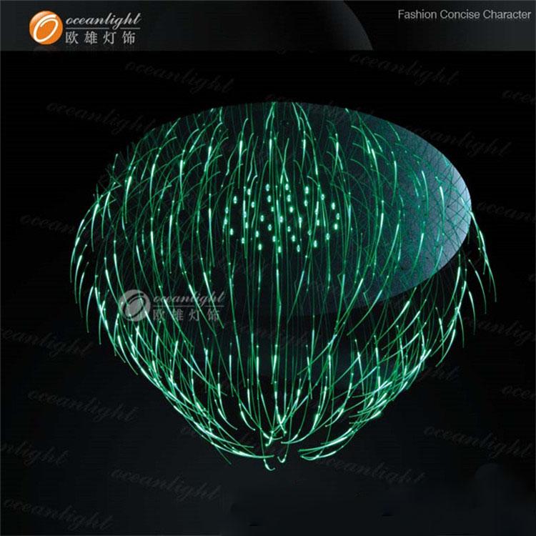 Unieke Ontwerp Glasvezel Verlichting Kleurrijke Plafondlamp Indoor ...