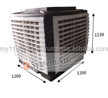 Evaporative Air Conditioner Energy Saving 30 Series Upper Discharge(Single Phase)