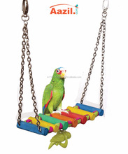 AAZIL Natural Parrot/Bird Multi-colored Hanging Hammock Toy