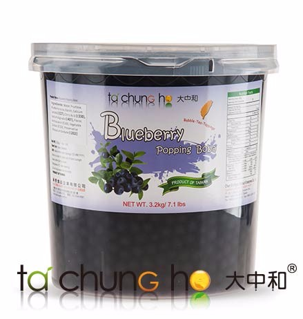 Hot Sale Wholesale Taiwan 3kg TachunGho Blueberry Popping Boba