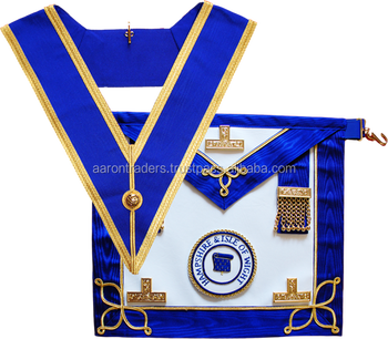 Provincial Undress Masonic Apron And Collar / Masonic Apron - Buy Aprons  With Zippers And Pockets,Rubber Apron And Rubber Cot,Rubber Cots And Aprons