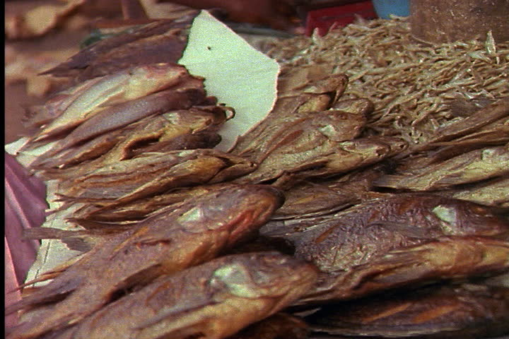 Dried Whole Stock Fish.
