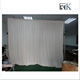Backdrop wedding decorations pipes and drape for exhibition booth and stall