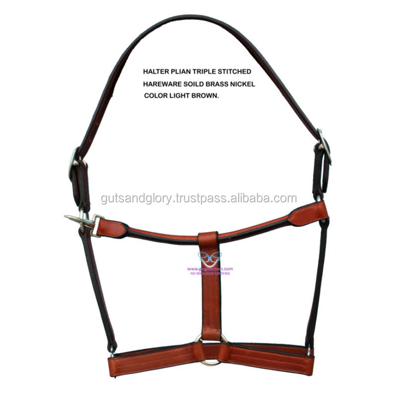 Leather Halter for Horse