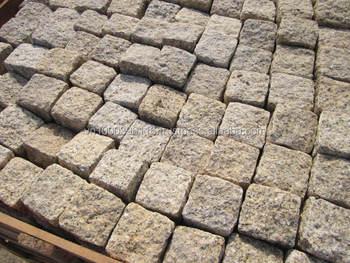 Piedra granito flameado adoquines para exterior camino for Adoquines para jardin precio