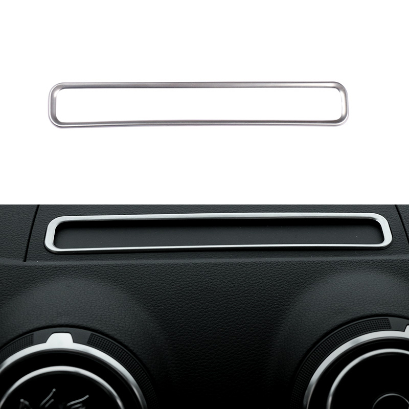 Car Styling Navigation Decorative Frame Strip Cover Sequins Special Modified For AUDI A3 8V 2013 2014