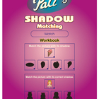Pati's Shadow Matching work book for children - English