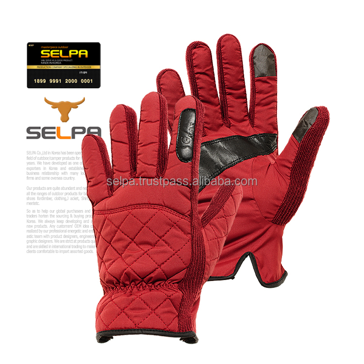Winter Outdoor Sports Dewspo Warm Gloves Smartphone Touch Screen Friendly Gloves