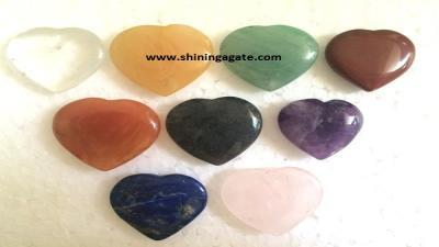 Mix Gemstone Pub Hearts