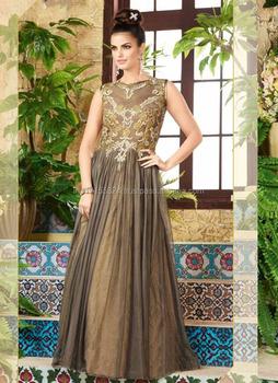 8658c1960d Designer evening gown for women - Net sleeveless long part wear gown - Gown  supplier in
