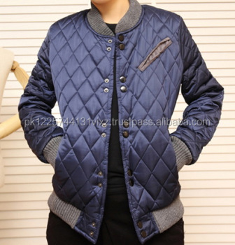 f37d863e4 Diamond Check College Jacket/baseball Jacket For Girls/boys/kids - Buy  Customize Logo Baseball Jacket,Custom Leather Bomber Jacket,Padded Varsity  ...