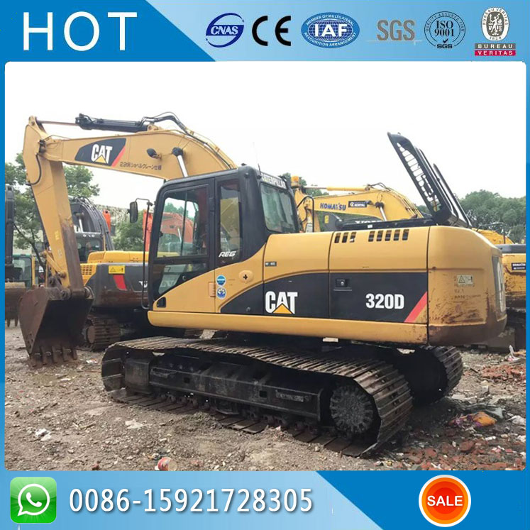 Foto excavator cat 320d