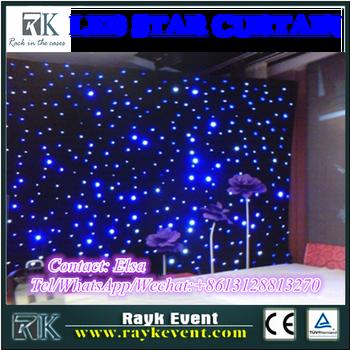 2015 Hot Sale Flexible Led Curtain Led Star Cloth Led Strip ...