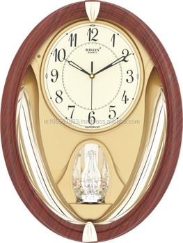 Rikon Rotating Pendulum Wall Clock Buy Wall Clock