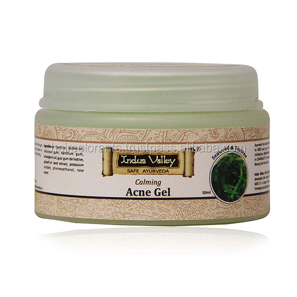 Gel all'acido calmante Teatree alle alghe