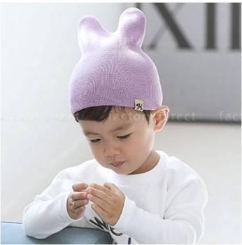 Cotton Toddler Beanie Korea 100% Cotton Beanie Cotton Baby Hat - Buy ... 12b10a6e146
