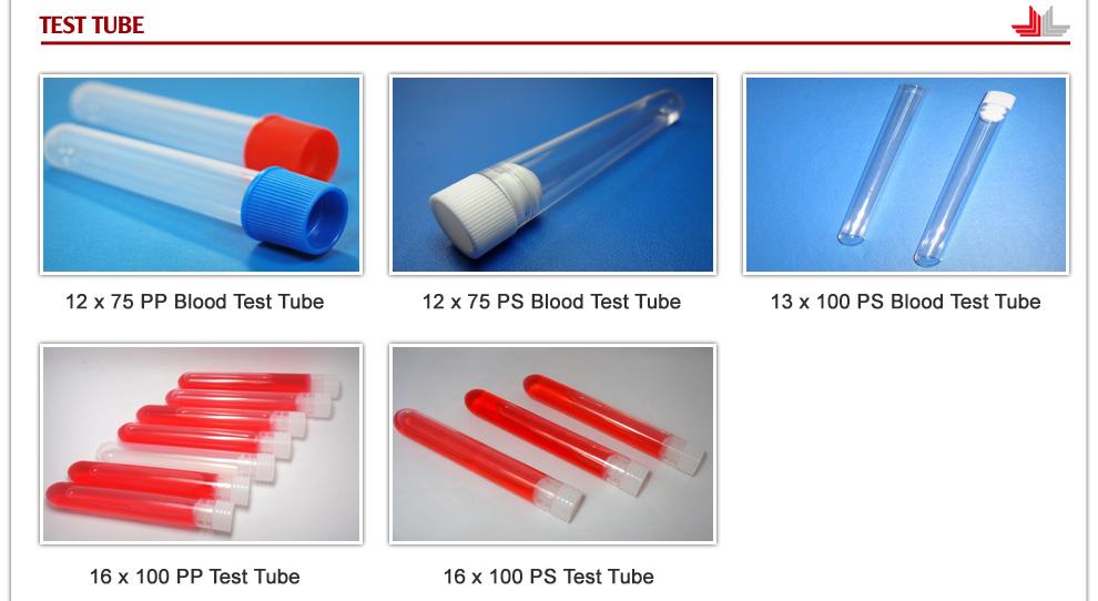 MIDA PRECISION MOLD CO , LTD - Blood Test Tubes,Petri Dishes