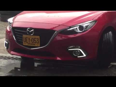 LUCES LED DE CIRCULACION DIURNA DRL MAZDA 3 SKYACTIV SPECIAL LIGHTING COLOMBIA
