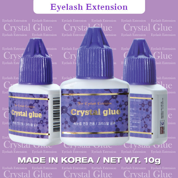 Crystal Glue - Silk Eyelash Extension Glue Korea