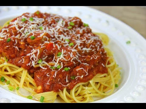 Italian Meat Sauce Recipe Pasta Sauce | Sunday Sauce | Red Sauce) - Chris De La Rosa