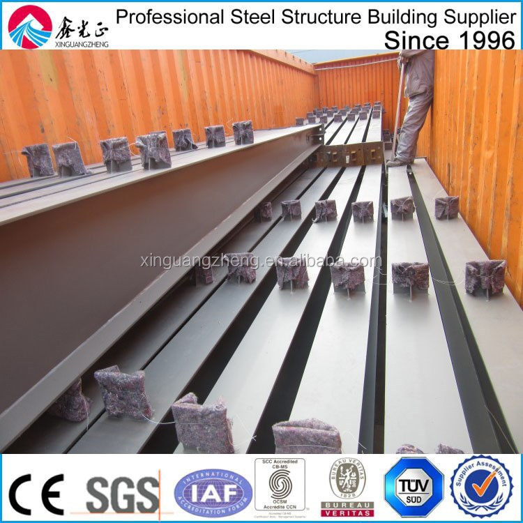 steel prefab corrugated steel warehouse