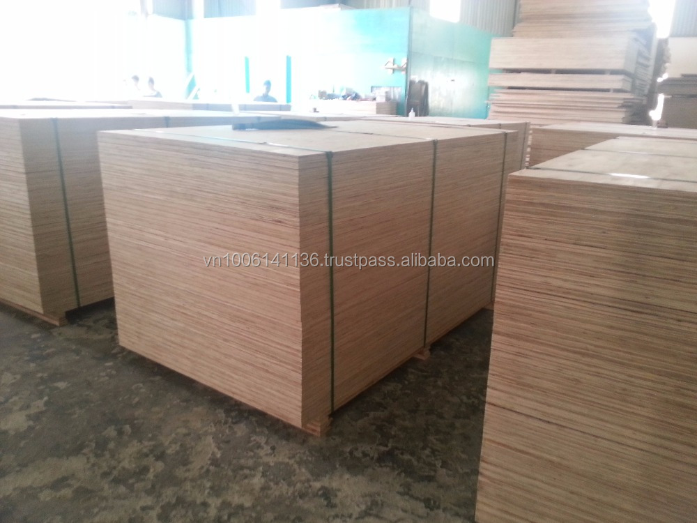 VIETNAM PACKING PLYWOOD / NATURAL WOOD PLYWOOD