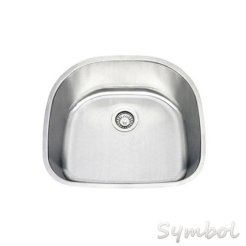 Stainless Steel Kitchen Sinks BUILD. Clark Vital Single End Bowl ...