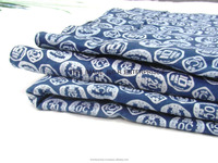 wholesale indian handmade 100% cotton patchwork pique embroidered fabric