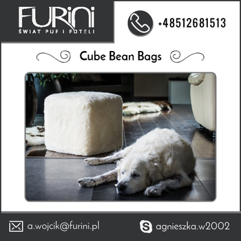 Top Most Manufacturer Selling Cube Bean Bag for Sale