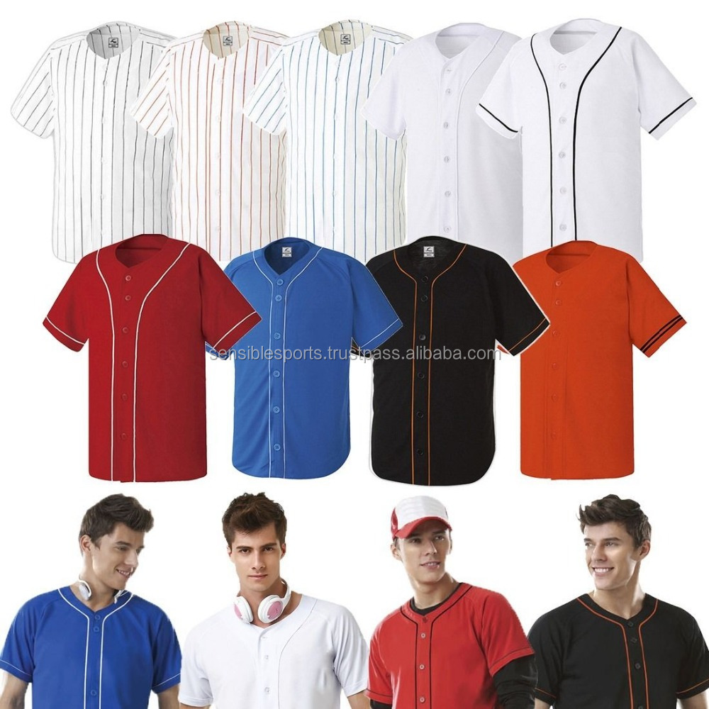 competitive price cedd2 e5c94 Men Casual Baseball Pin Striped. Classic Designed Baseball Jersey - Buy  Custom Stripe Baseball Jersey,Blank Baseball Jersey,Pink Baseball Jersey ...