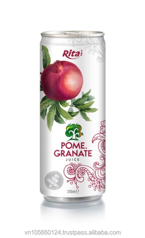 250ml Alu can Pomegeranate Juice